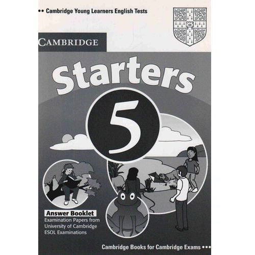 Cambridge Young Learners English Tests Second Edition Starters 5 Answer Booklet, Cambridge ESOL