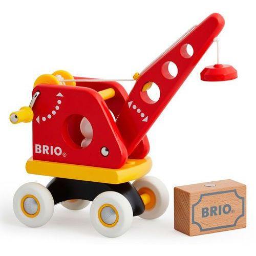 drewniany żuraw z ładunkiem 30428 marki Brio