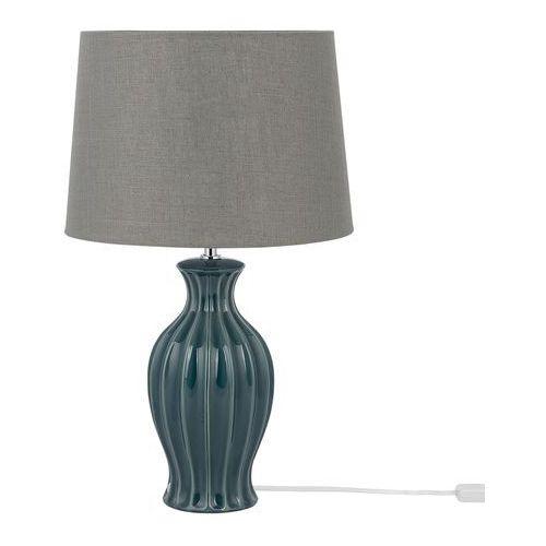 Lampa stołowa ciemnozielona 59 cm SAMINA