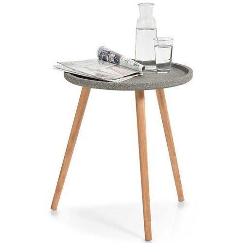 Zeller Stolik okolicznościowy, okazjonalny concrete - pomocnik, Ø 50 cm, (4003368170015)