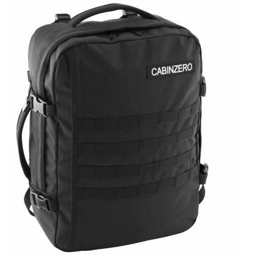 Cabinzero military 36l torba podróżna podręczna / kabinowa / plecak / czarny - absolute black