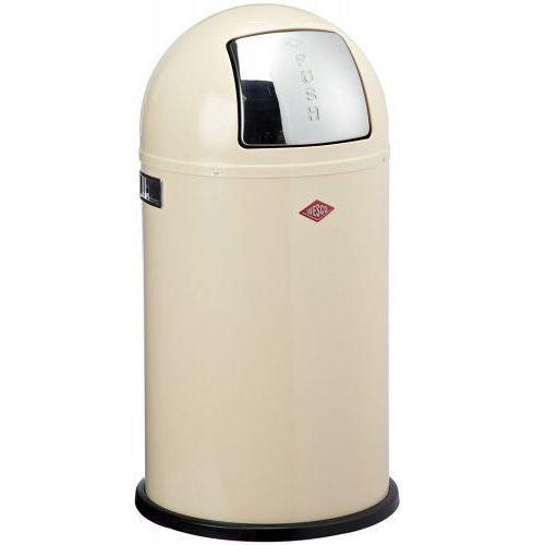 Wesco Pushboy 50l - kosz na śmieci, migdałowy (4004519128619)