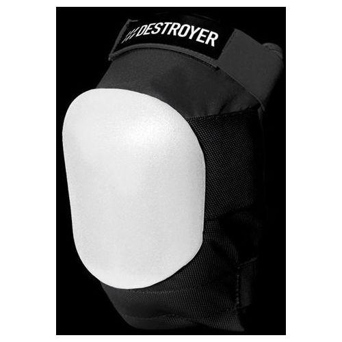 ochraniacze DESTROYER - Am Knee Black/White (BWT) rozmiar: S - produkt z kategorii- Ochraniacze na ciało