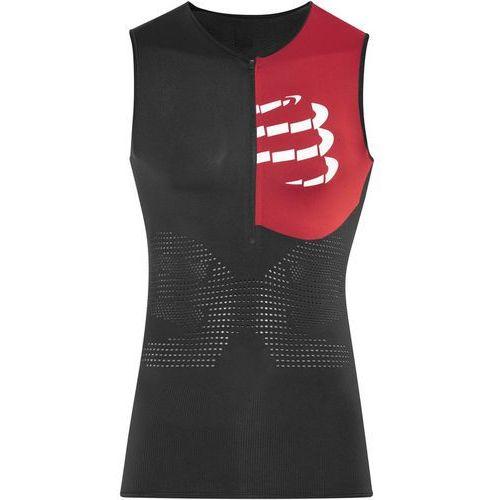 Compressport Triathlon Postural Aero Mężczyźni czarny M 2018 Pianki do pływania (7640179673143)
