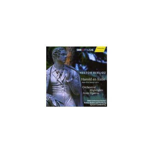 Haenssler Harold en italie: harold in italy, symphony with viola obbligato (4010276021957)