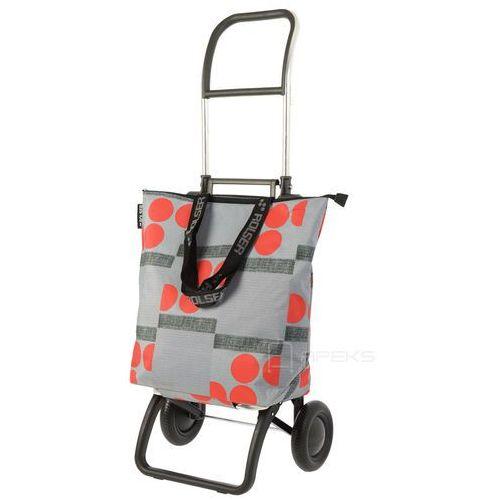 logic minibag wózek na zakupy / składany / mnb011 rojo / szaro - czerwony - szary / czerwony marki Rolser