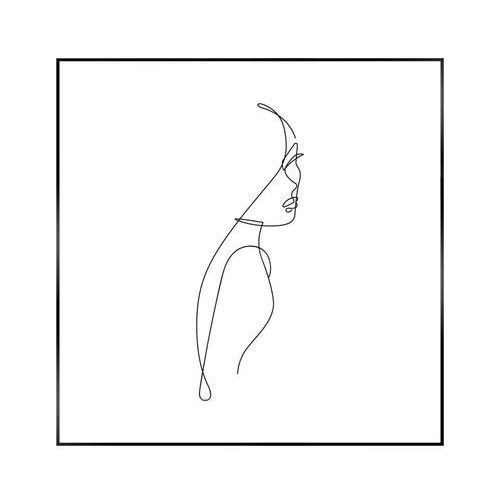Obraz szkic kobiety 50 x 50 cm marki Reinders
