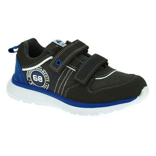 Sportowe buty dla dzieci American Club ES31/19 Szare - Grafitowy