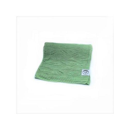 Poldaun kocyk bebaby bambusowy 75x100 pistacja | u nas skompletujesz całą wyprawkę | szybka wysyłka