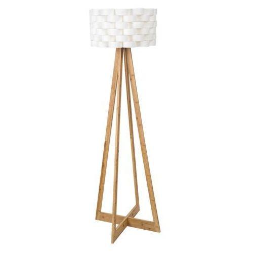 Rabalux 4181 andy lampa podłogowa drewniana kolosz biały