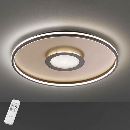 Lampa Sufitowa Fischer & Honsel Bug LED Złoty, 1-punktowy, Zdalne sterowanie - Nowoczesny - Obszar wewnętrzny - Bug - Czas dostawy: od 6-10 dni roboczych (4001133206303)