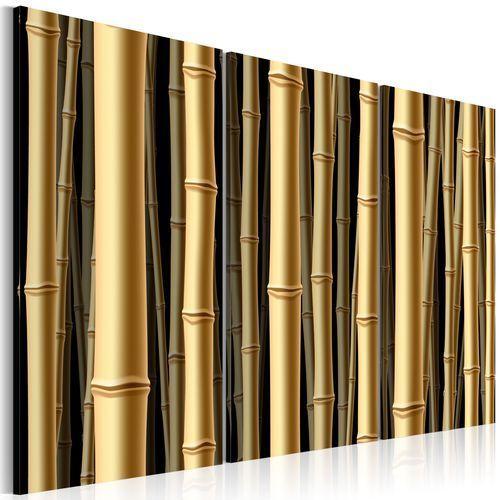 Obraz - brązowe łodygi bambusa marki Artgeist