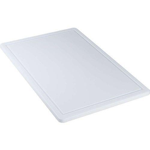 Deska do krojenia 600x400x18 mm biała STALGAST 341635