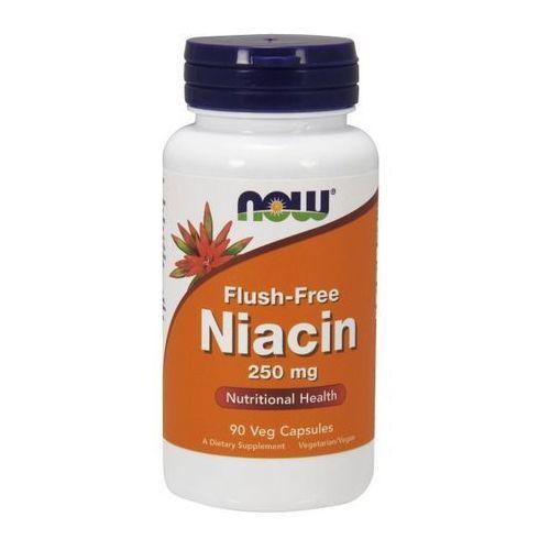 Now Foods Flush-Free Niacin (Niacyna + Inozytol) 250mg 90 kaps., produkt z kategorii- Witaminy i minerały