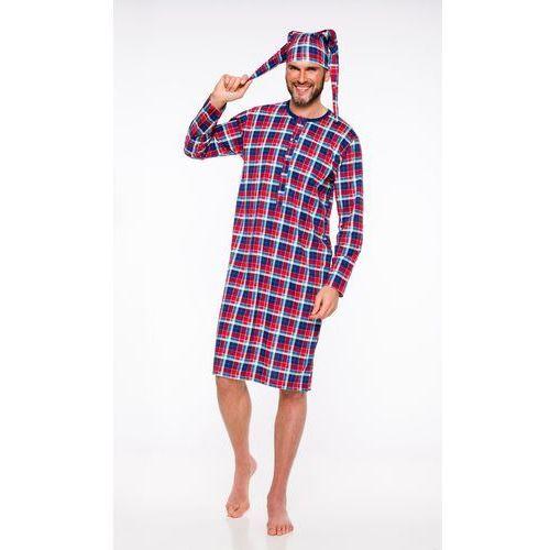 Piżama męska big ben 550 szary/melanż marki M-max