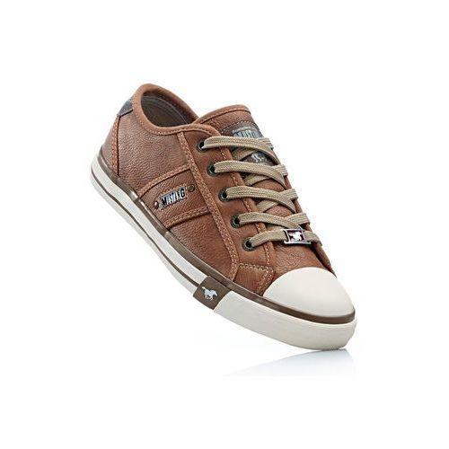 Sneakersy mustang kasztanowy marki Bonprix