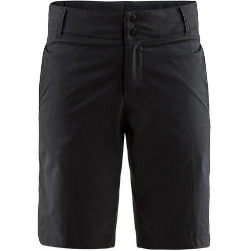 szorty rowerowe damskie ride shorts, czarny m marki Craft