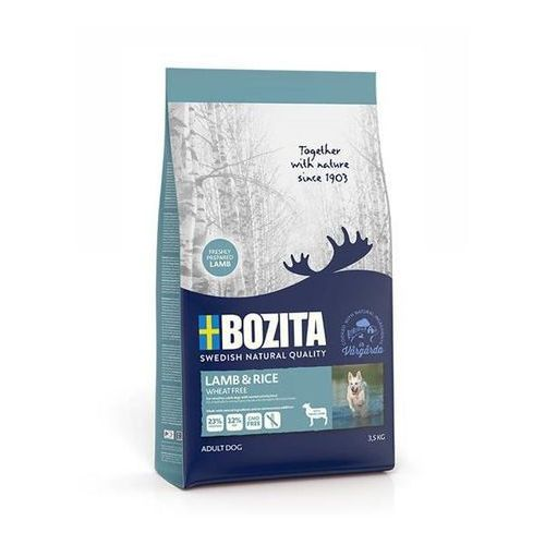 lamb & rice wheat free 3,5kg marki Bozita