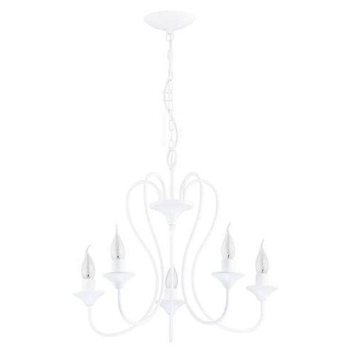 Alfa Lampa wisząca zwis unity 23625 5x40w e14 biała