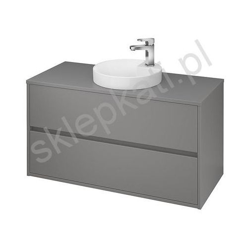 CERSANIT CREA Szafka 100 pod umywalki nablatowe, szary mat S924-020 (5902115724466)