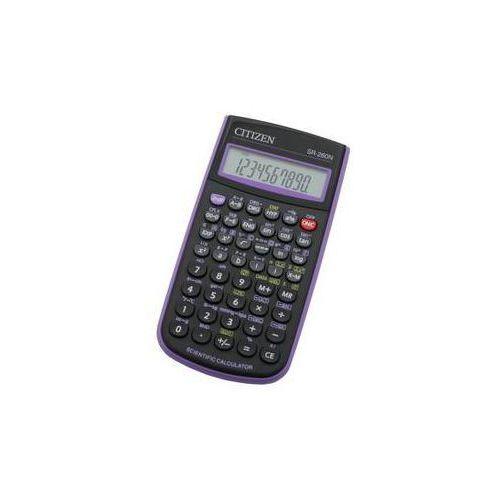 Kalkulator Citizen SR-260NPU (SR-260NPU) Czarna/Purpurowa