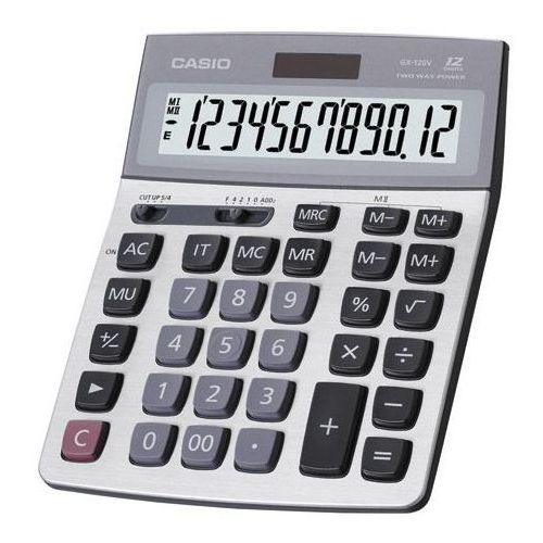 Kalkulator Casio GX 120S, kup u jednego z partnerów
