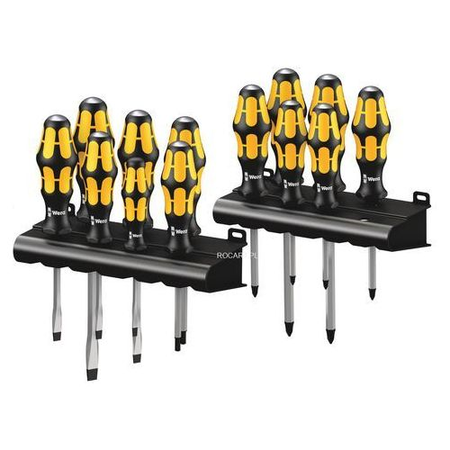 Wera zestaw 13 wkrętaków do pobijania płaskie/ph/pz/tx kraftform big pack 900 (4013288176349)
