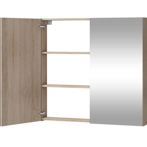 Szafka łazienkowa z lustrem Della 100 sonoma