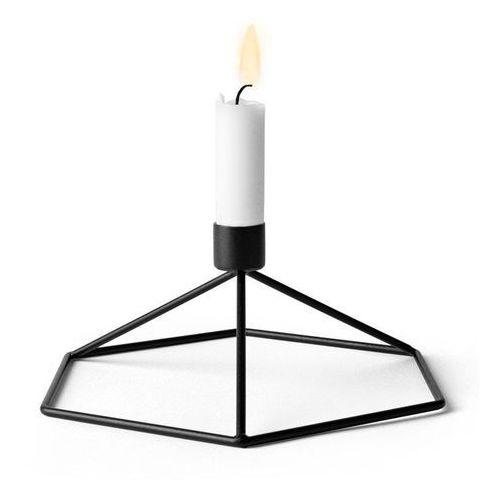 - świecznik table - czarny - czarny marki Menu