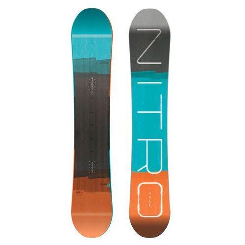 Potestowa deska snowboardowa team true camber 165 wide cm marki Nitro