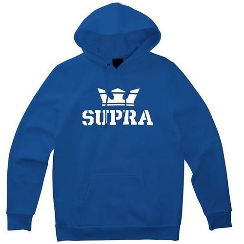 bluza SUPRA - Above Pullover Hood Ocean/White-White (474) rozmiar: L