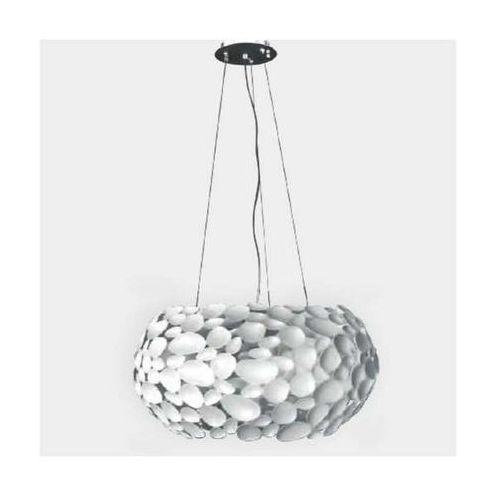 Orlicki design Lampa wisząca carerra bianco metalowa oprawa zwis led 42w biały (1000000335293)