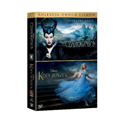 Czarownica / kopciuszek 2 filmów (2xdvd) - darmowa dostawa kiosk ruchu marki Robert stromberg / kenneth branagh