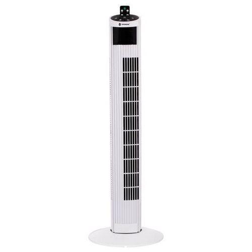 Springos Wentylator kolumnowy 55w wiatrak domowy biały z pilotem 92 cm