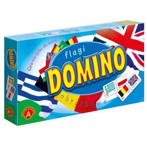 Domino obrazkowe - flagi marki Alexander