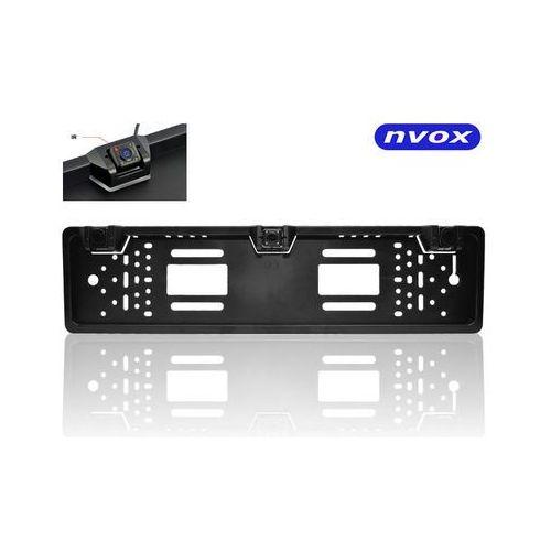 Nvox  rc6050p samochodowa kamera z czujnikami cofania wbudowana w ramkę rejestracyjną z ir (5909182419806)