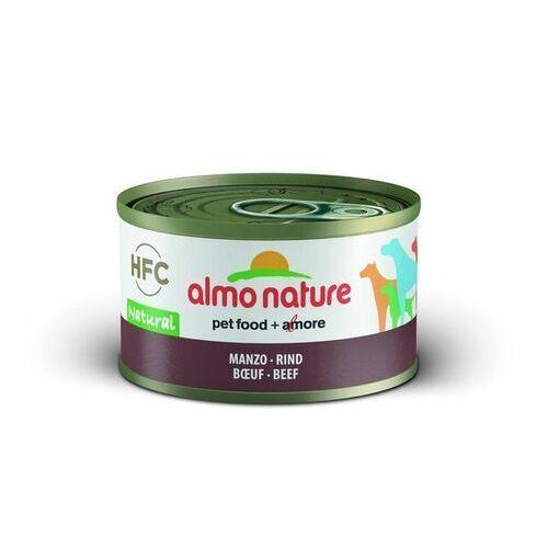 Almo Nature HFC Natural wołowina dla psa 6x95g