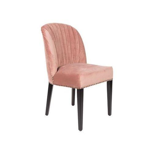 Dutchbone Krzesło CASSIDY różowe 1100322 (8718548037045)