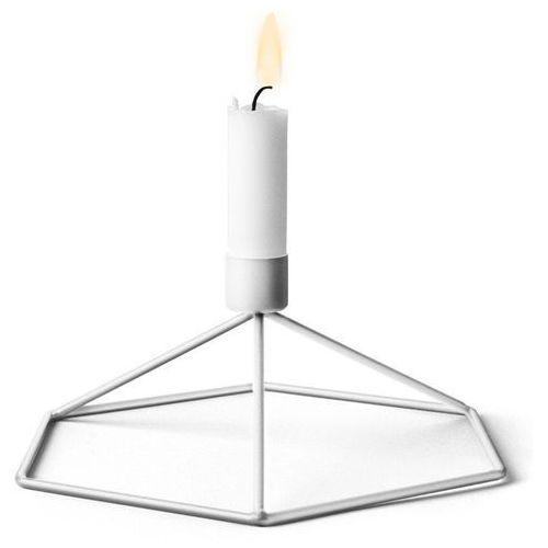 - świecznik table - biały - biały marki Menu