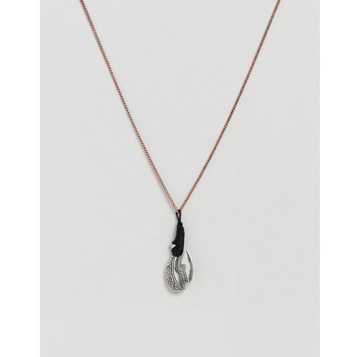 burnished copper necklace - gold marki Classics 77