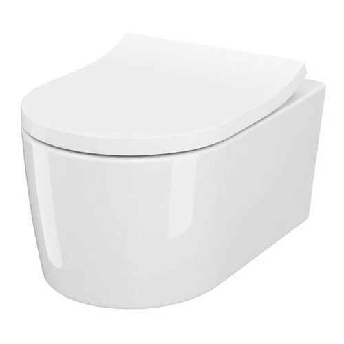 Miska WC Cersanit Reel wirowa z deską duroplast wolnoopadającą, SZCZ1002511775