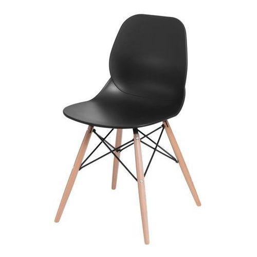 Krzesło layer dsw - czarny marki D2.design