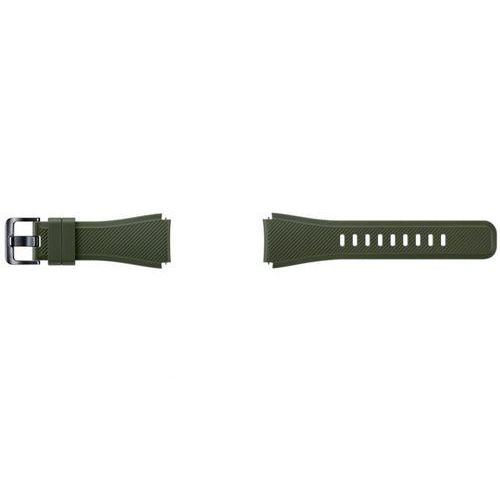 Pasek gear s3 active silicon (et-ysu76mgegww) zielony marki Samsung