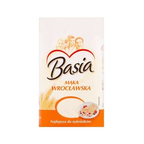 BASIA 1kg Mąka pszenna wrocławska Typ 500