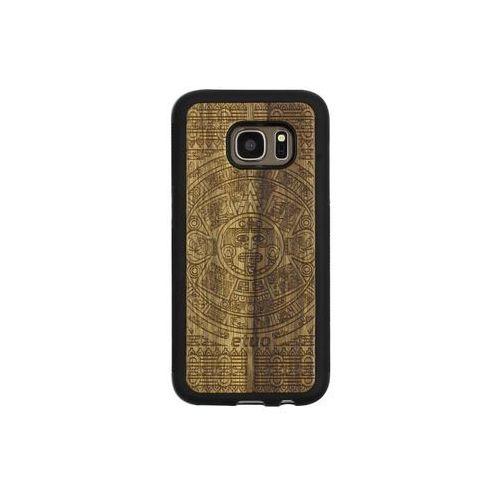 Samsung Galaxy S7 - etui na telefon Wood Case - Kalendarz Aztecki - limba