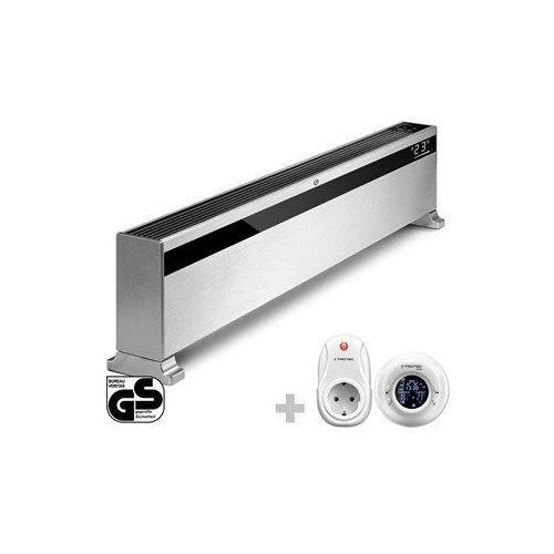 Designerski konwektor TCH 1500 E + Termostat radiowy BN35 (4052138089422)