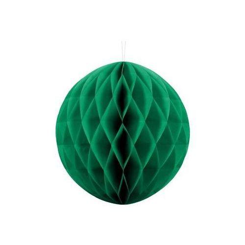 Dekoracja wisząca kula szmaragdowozielona - 30 cm - 1 szt. (5901157497840)