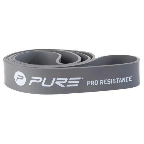Pure2improve taśma oporowa extra heavy, szara, p2i200120 (8719033335844)