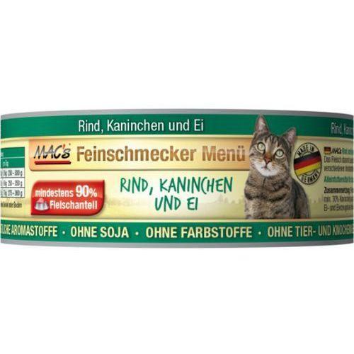Macs cat kons. wyśmienita wołowina / królik - 6x100g marki (bez zařazení)