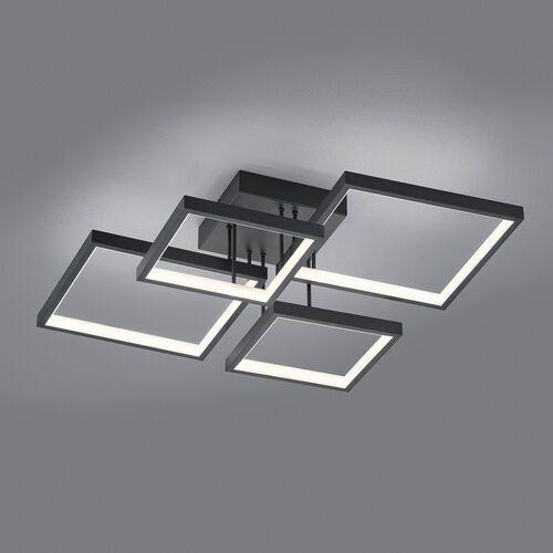 Trio Sorrento 627710432 plafon lampa sufitowa 1x24W LED 3000K czarny mat, 627710432